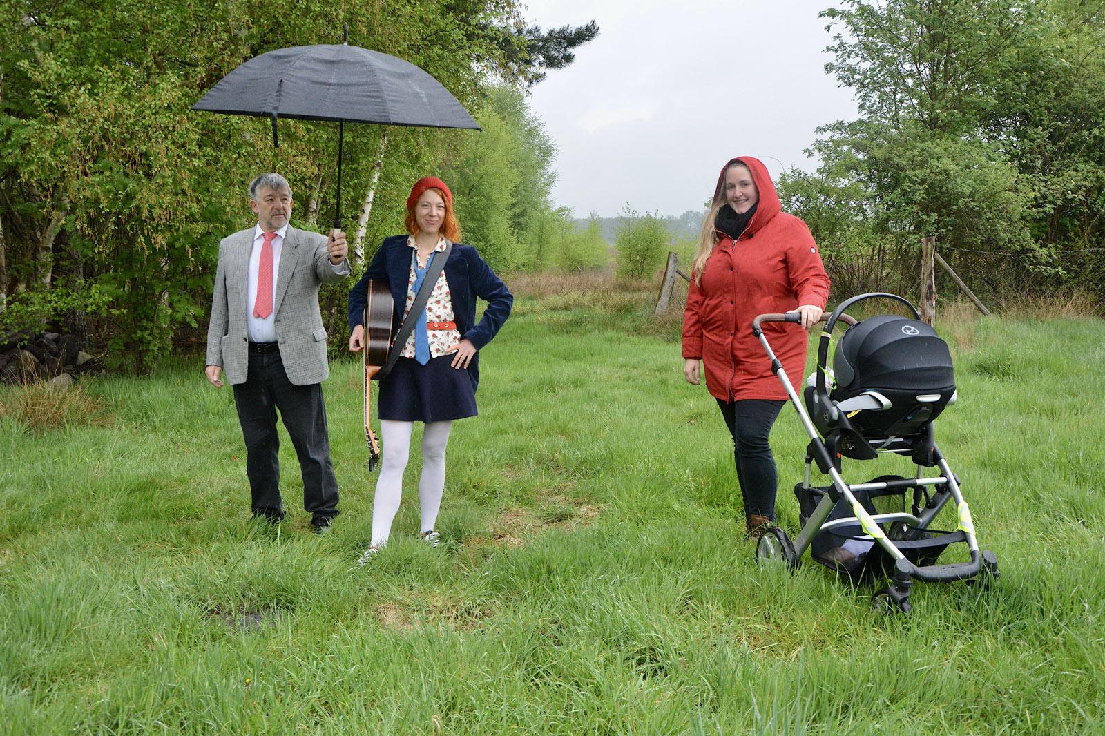 Johanna Zeul besucht Bürgerinitiative in Haaßel